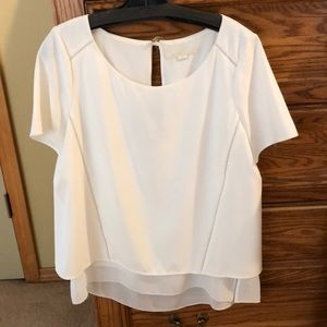 Double layered blouse